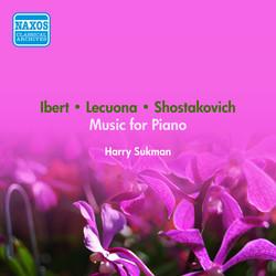 Lecuona, E.: Andalucia / Shostakovich, D.: Polka / Ibert, J.: Le Petit Ane Blanc (Sukman) (1950)