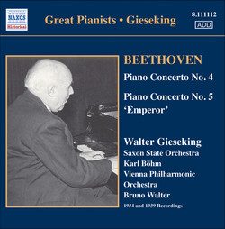 Gieseking - Concerto Recordings, Vol. 3