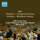Liszt, F.: Totentanz / Hungarian Fantasy / Schubert - Wanderer Fantasy (Farnadi, London Philharmonic Promenade Orchestra, Boult) (1955-1956)