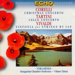 Corelli: Christmas Concerto / Tartini: Cello Concerto in D Major / Vivaldi: Sinfonia for Strings