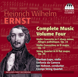 Ernst: Complete Music, Vol. 4
