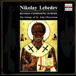 Russian Composing School: Nikolay Lebedev