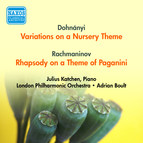Dohnanyi, E.: Variations On A Nursery Theme / Rachmaninov, S.: Rhapsody On A Theme of Paganini (Katchen, London Philharmonic, Boult) (1954)