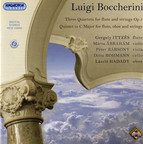 Boccherini: 3 Quartets for flute and strings, Op. 5 - Quintet in C major for flute, oboe and strings