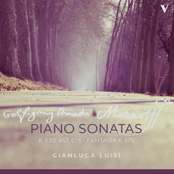 Mozart: Piano Sonatas Nos. 10, 14, 18 & Fantasia in C Minor, K. 475