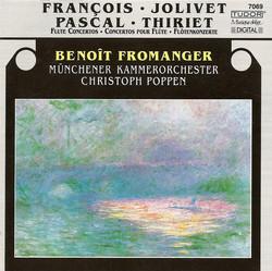 Jolivet, A.: Flute Concerto / Thiriet, M.: Flute Concerto / Francois, R.: Roseaux