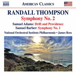 Thompson: Symphony No. 2 - S. Adams: Drift & Providence - Barber: Symphony No. 1