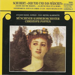 Schubert, F.: String Quartet No. 14 (Arr. for String Orchestra) / Salve Regina, Op. 153 / Offertory