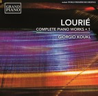 Louriè: Complete Piano Works, Vol. 1