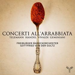 Telemann, Platti, Vivaldi & Geminiani: Concerti all'arrabbiata