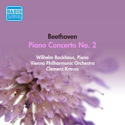 Beethoven, L. Van: Piano Concerto No. 2 (Backhaus, Vienna Philharmonic, Krauss) (1952)