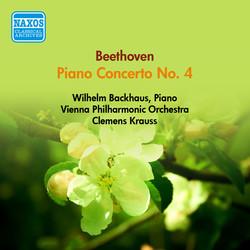 Beethoven, L. Van: Piano Concerto No. 4 (Backhaus, Vienna Philharmonic, Krauss) (1951)