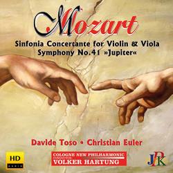 Mozart: Sinfonia concertante in E-Flat Major & Symphony No. 41