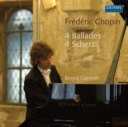Chopin: 4 Ballades - 4 Scherzi