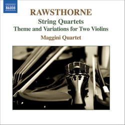 Rawsthorne: String Quartets Nos. 1-3  / Theme and Variations