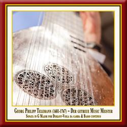Telemann: Der getreue Music-Meister, Viola da Gamba Sonata in G Major, TWV 41:G6