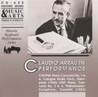 Claudio Arrau in Performance