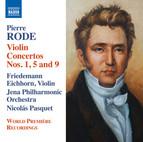 Rode: Violin Concertos Nos. 1, 5 & 9