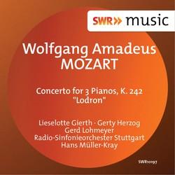 Mozart: Concerto for 3 Pianos, K. 242