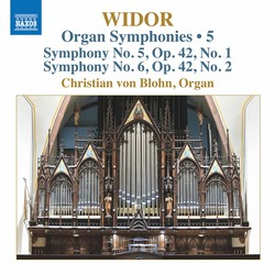 Widor: Organ Symphonies, Vol. 5
