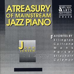 Jensen, John: Treasury of Mainstream Jazz Piano (A)