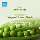 Ravel, M.: Sheherazade / Mussorgsky, M.: Songs and Dances of Death (Tourel, Columbia Symphony, Bernstein) (1950)