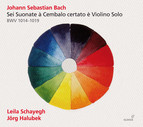 J.S. Bach: Sonatas for Violin & Harpsichord, BWV 1014-1019