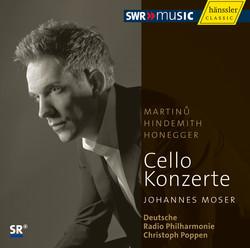 Martinů, Hindemith, Honegger: Cello Concertos