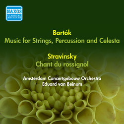 Bartok, B.: Music for Strings, Percussion and Celesta / Stravinsky, I.: Song of the Nightingale (Amsterdam Concertgebouw, Beinum) (1955, 1956)