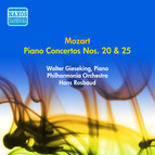 Mozart, W.A.: Piano Concertos Nos. 20 and 25 (Gieseking, Rosbaud) (1953)