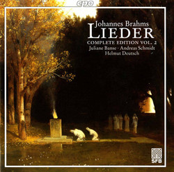 Brahms: Lieder (Complete Edition, Vol. 2)