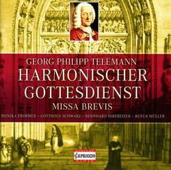 Telemann, G.P.: Cantatas / Missa Brevis