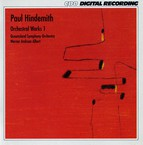 Hindemith: Orchestral Works, Vol. 1