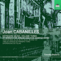 Cabanilles: Keyboard Music, Vol. 3