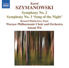 Szymanowski: Symphonies Nos. 2 and 3