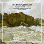 Gernsheim: Symphonies 1 & 3