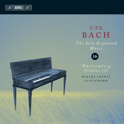 C.P.E. Bach: Solo Keyboard Music, Vol.16