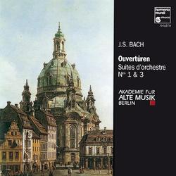 J.S. Bach: Suites pour orchestre No. 1 & 3