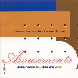 Amusements - Works Arranged for Flute and Guitar