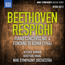 Beethoven: Piano Concerto No. 4 - Respighi: Fontane di Roma (Live)