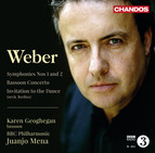 Weber: Symphonies Nos. 1 & 2 - Bassoon Concerto