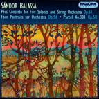 Balassa: Pecsi Concerto / 4 Portraits / The 301st Plot