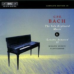 C.P.E. Bach: Solo Keyboard Music, Vol. 6