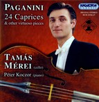 Paganini: 24 Caprices / Brahms: Hungarian Dances Nos. 1 and 7  (Arr. for Cello)