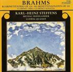 Brahms, J.: Trio, Op. 114 / Clarinet Sonatas Nos. 1 and 2