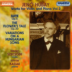 Hubay: Works for Violin and Piano, Vol. 2