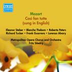 Mozart, W.A.: Cosi Fan Tutte (Sung in English) (Steber, Tucker, Metropolitan Opera, Stiedry) (1952)