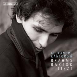 Alexandre Kantorow plays Brahms, Bartók & Liszt