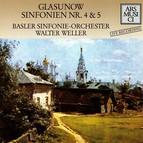 Glazunov: Sinfonien Nr. 4 & 5