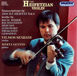 Heifetz: Transcriptions, Vol. 1